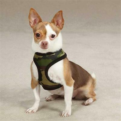 Casual Canine ZW2195 12 75 Casual Canine Fabric Camo Harness Sm Pink