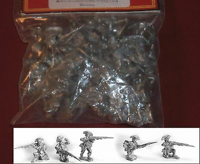Old Glory AWI-14 Continental Firing Line Bicorne (30) 25mm Miniatures Infantry