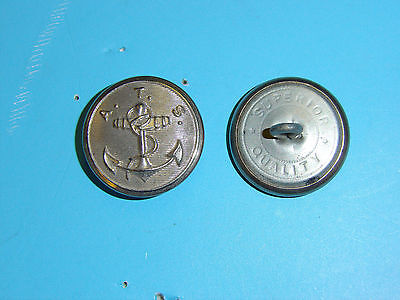 b2426 WW 2 US Army (ATS) Army Transport Service button Large B2D8