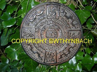 New Design Rubber Latex Mould Moulds Mold To Make An Aztec Wall Plaque