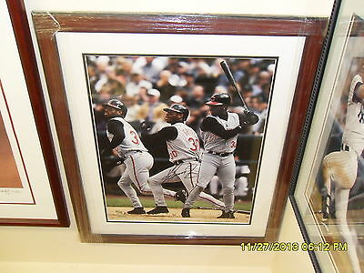 UDA Ken Griffey Jr. Autographed 16x20 #23/130 Bold Clean Signature-Free Shipping