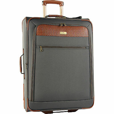 "TOMMY BAHAMA RETREAT II BROWNSTONE BROWN 25"" EXPANDABLE SUITCASE - $380 VALUE"
