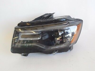 2014 2015 JEEP GRAND CHEROKEE BLACK BEZEL WITH AFS OEM LEFT XENON HID HEADLIGHT