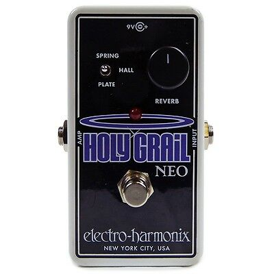 New! Electro-Harmonix Holy Grail Neo Reverb - Free US 48 Shipping!