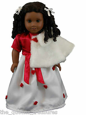 "18"" Doll Clothing - Lovely Elegant Gown Outfit Fits AMERICAN GIRL DOLL CLOTHES"