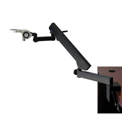 AmScope Articulating Arm Clamp Table Stand, Focusing Rack for Stereo Microscopes