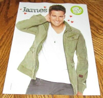 BIG TIME RUSH JAMES MASLOW TV Star Hunk PINUP 8X10 Dancing With The Stars