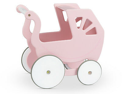 Silver Cross Classic Hand Made Wooden Girls Pink Dolls Pram  ~ Lay-By Welcome ~