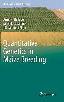 Quantitative Genetics in Maize Breeding by J.B. Miranda Filho (English) Hardcove