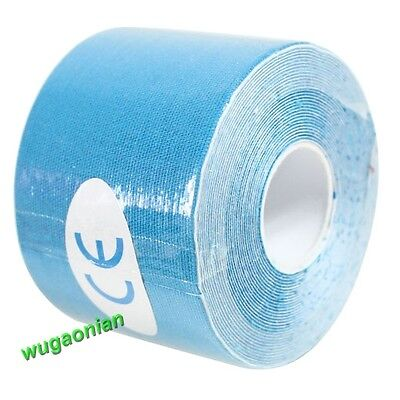 1 Roll 5m*5cm Kinesiology Elastic Sports Physio Muscles Care Strain Injury Tape