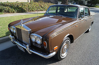 Rolls-Royce : Silver Shadow CHROME BUMPER US LHD MODEL SILVER SHADOW 1972 impeccable desirable rare us lhd model small chrome bumper silver shadow