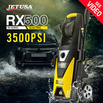 Jet-USA 3500 PSI High Pressure Washer Cleaner Electric Water Hose Gurney Pump