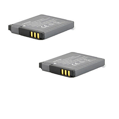 2x 800mah Battery NB-8L NB8L For Canon PowerShot A-Series A2200 A3300 IS Camera