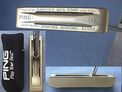 "Ping 1A  1-A Putter  35""  w/hc   New   The Noisey One"
