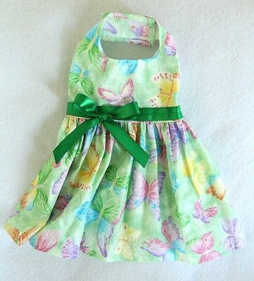 S Spring Green Butterfly Dog dress clothes pet clothing apparel Small PC Dog®