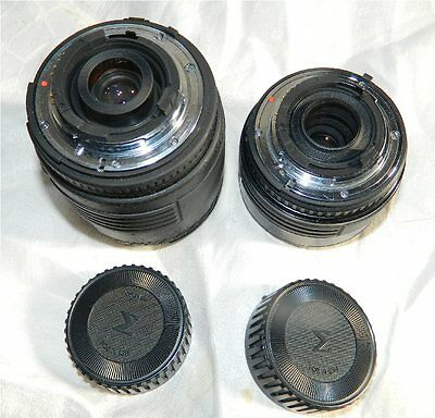 (2) Sigma  70 mm & 70-210 mm  Autofocus zoom Lens with caps  FREE SHIPPING