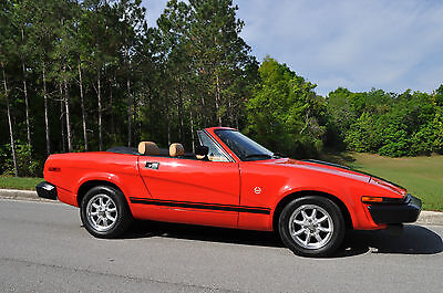 Triumph : Other Base Convertible 2-Door Totally Restored 1980 Triumph TR7 Convertible - Gorgeous in & out!!