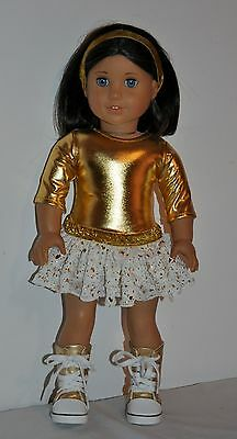 AMERICAN MADE DOLL CLOTHES FOR 18 INCH GIRL DOLLS DRESS LOT 00167