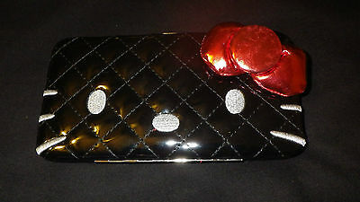 HELLO KITTY FANCY HARDCASE BY SANRIO LOUNGEFLY CLAIRE'S STORE NWT
