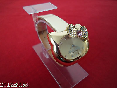 2015 HelloKitty Watch - 100% Brand New - from the factory -Gold color