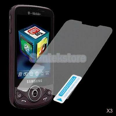 3x 3 x LCD Screen Protector for Samsung Behold II SGH-T939