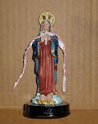 MARY OUR LADY UNDOER ( UNTIER ) OF KNOTS 5 in Statue NEW Pope Francis Devotion