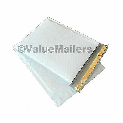 """#1 Poly 100 7.25""""x12"""" AJVM Bubble Mailers Padded Envelopes Bags 100 % Recyclable"""