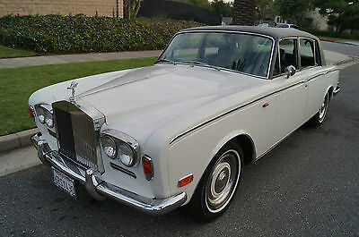 Rolls-Royce : Silver Shadow SILVER SHADOW WITH 64K ORIGINAL MILES! 1972 impeccable rare us lhd model small chrome bumper silver shadow with 64 k