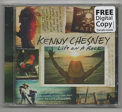 Kenny Chesney Life on a Rock 2013 CD Limited Edition With Free Digital Copy