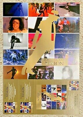 Michael Jackson Vision Limited Edition 2009 Promotional Poster
