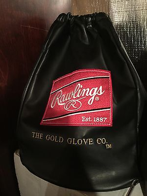 Rawlings Primo Pro Preferred Heart Of Hide HOH Baseball Black Leather Glove Bag