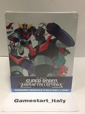 Super Robot Movie Collection - Limited Edition - 2 Blu-Ray + 1 Dvd - Steel Book
