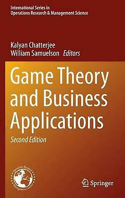 Game theory and business applications english hardcover book free game theory and business applications english hardcover book free shipping fandeluxe Image collections