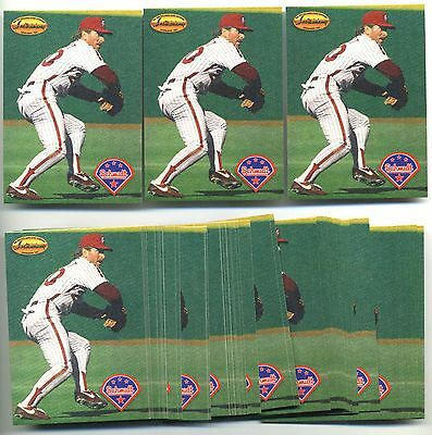 Lot of 50 1994 Ted Williams Company MIKE SCHMIDT #MS5 Insert Cards - Sharp Mint!