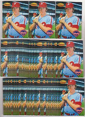 Lot of 50 1994 Ted Williams Company MIKE SCHMIDT #MS7 Insert Cards - Sharp Mint!