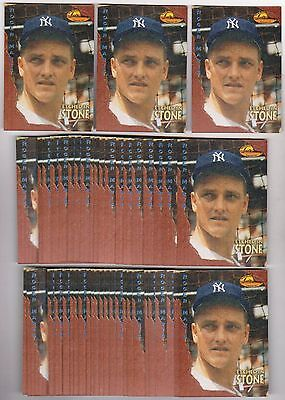 Lot of 50 1994 Ted Williams Roger Maris Etched In Stone #ES3 Insert Cards