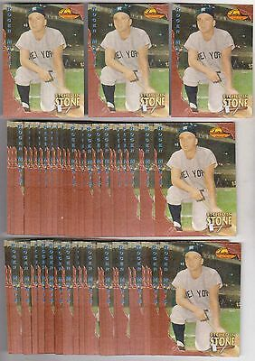 Lot of 50 1994 Ted Williams Roger Maris Etched In Stone #ES1 Insert Cards