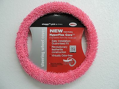 Bell HyperFlex Core Steering Wheel Cover Shaggy Pink 97048-9 NEW dlm