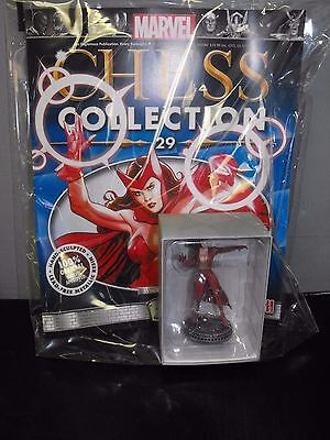 MARVEL CHESS COLLECTIBLES SCARLET WITCH WITH MAGAZINE