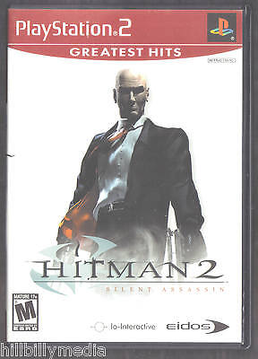 Hitman 2: Silent Assassin (PlayStation 2) GH PS2 game CIB complete FREE SHIPPING
