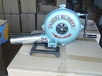 Forge Blower Blacksmith Metal Working New Hand Powered