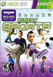 New Kinect Sports Xbox 360 Video Game