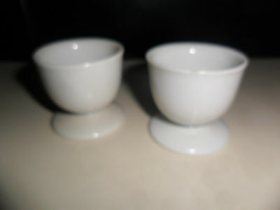 ARZBERG GERMANY 172 COLLECTOR  POTTERY EGG CUPS / EASTER EGG HOLDERS