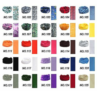 1PCS New Fashion Colourful Multi Scarf Headwear Bandana Warmer for outdoor