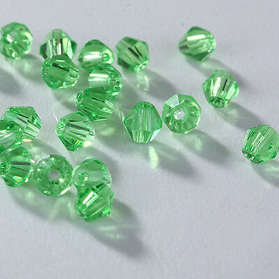 Free Shipping DIY jewelry 100pcs 5301 Austria Crystal 3mm bicone Beads D13