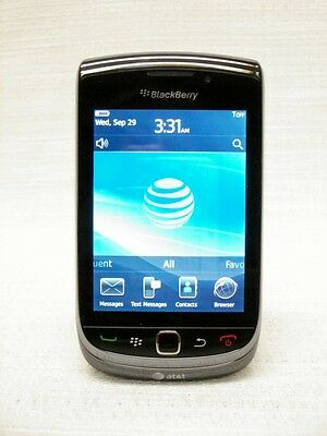 AT&T BLACKBERRY TORCH 9800~BLACK~UNLOCKED~NO CONTRACT~
