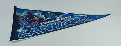 "Vintage 90's Vancouver Canucks Hockey 30"" Pennant"