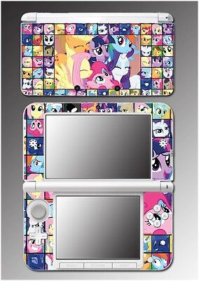 My Little Pony MLP Friendship is Magic Horse Video Game Skin for Nintendo 3DS XL