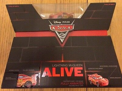Disney Pixar cars Lightning McQueen Alive. NIB cool collector piece.