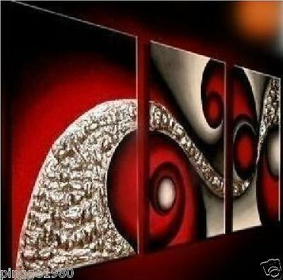 3PCS Wall decoration Modern Abstract Art Oil Painting On Canvas (NO frame) P015